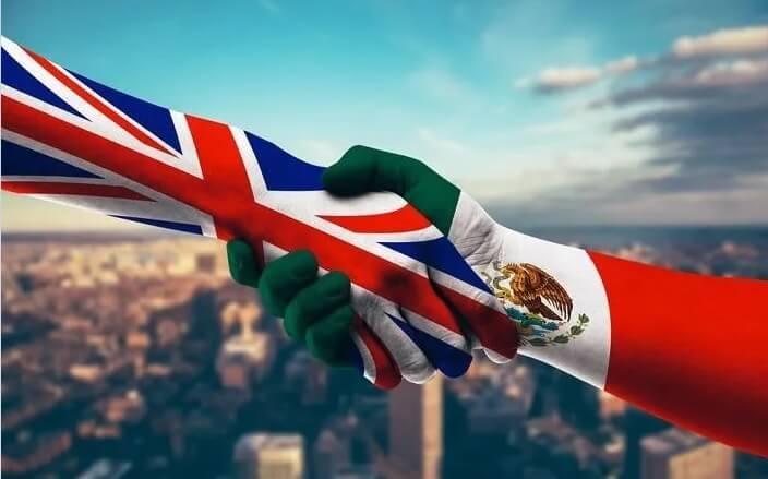 Meksika İle Birleşik Krallık Arasında İmzalanan Ticaretin Sürekliliği Anlaşması, 1 Haziran 2021 Tarihinde Yürürlüğe Girdi.
